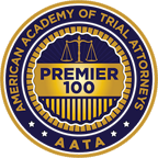 American Academy of Trial Attorneys (AATA) Premier 100 badge