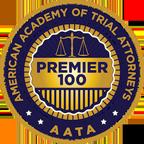 American Academy of Trial Attorneys (AATA) Premier 100 badge