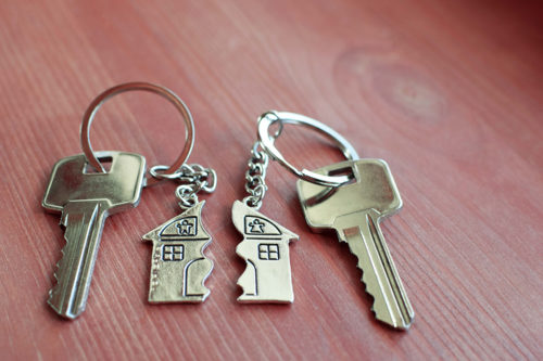 division of property house keys